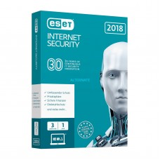ESET - NOD32 - Antivirus - Retail Box - 3 PC - Anglais