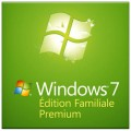 Microsoft Windows 7 - Édition familiale premium - 32 & 64-bit - Bilingue - License seulement - livrée