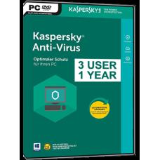 Kaspersky - Antivirus - 2018 -3 PC - Bilingue - Clé par courriel - aucune livraison